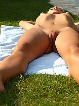 pussy up close, blue angel 05 poolside pussy