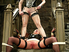 Clit, Clair Adams unleashes her wrath on the sumptuous Vendetta