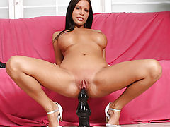 FTV, Tiffany rams a thick dildo