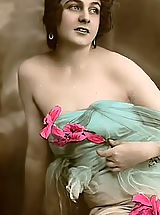 Vintage Babes: Forefathers Woman