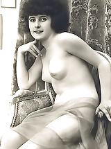 Vintage Babes: Aged Woman