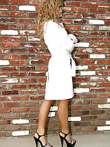 Capri Cavalli stops by her neighbors in a trench coat and not much else and fucks her friends husband.