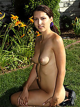 Hot Playful Anne Cools Off By Undressing for the Camera - 1/4/2013