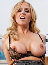 Hard Nipple Babes: Hot blonde teacher with big breasts loves rough sex on her desk.