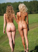 Ass Babes: Femjoy - Nicolle, Anju in Going For A Walk