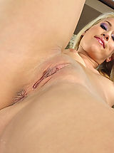 In the Crack Pics: Wet Pussy Closeup of Yvette