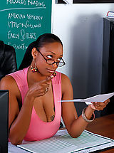 Carmen Hayes gets fucked on her desk