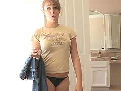 FTV Girls, Ella gets naked and tries on clothes
