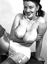 I Just Found These Photos of Hot Nude Busty Ladies of 1950s Hidden In a Loft by My Father's and Their Sexuality Has Blown Me