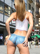 Ass Pics: susana spears 02 bodypainting public nudity