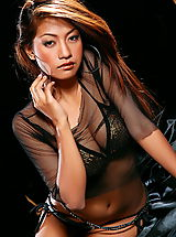 Lingerie Babes: Asian Women prissila khan 03 sheer lingerie big nipples