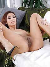 Big Labia, Photo Set No. 1348 Jade Jantzen unveils her own sizeable cans and bares her own solid slit