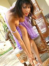 The Black Alley Pics: Asian Women kesara 05 negligee toy in vagina