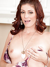 Alicia Silver identified for Small Boobs,Landing Strip Pussy,Redhead,Long hair,Bras,Masturbation,Wet,Thongs,High Heels,Mini Skirt,Natural,Milf