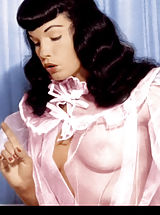 Celebrity Babes: Bettie Page