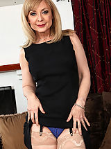 Milf Pics: Hot mom Nina Hartley has rough sex with one of her sons friend.