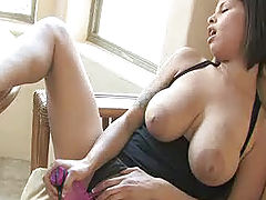 Hot Bod, Meilani plays with her pussy