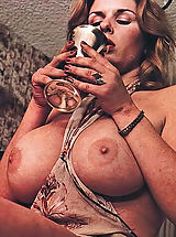 Erotic Babes, Beautiful Hirsute Girls with a Focus on Big Natural Boobs - Underground Genuine Vintage Pornography Of 1970