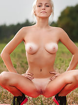 Tan.Lines Pussy: Aislin from Ukraine