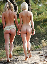 als scan, Taking a long walk in nature under the warm sun is the most favorited time spending for these extraordinary looking babes.