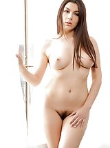 Valentina Nappi Slutty Babe reveals her bare tits, pulls down her under garments and opens her limbs and hand fucks her tight-fitting slit