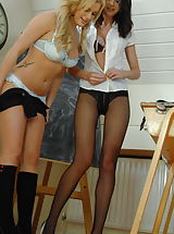 Panty Babes: Amy Green and Natalie Thomas