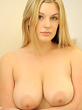 Big.Tits Pics: Danielle strips down and showers her pussy and titties