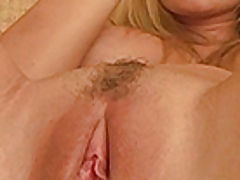 tight slit videos, Alison Angelm plays with her new dildo