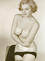 Vintage Babes: Old Time Erotica and Lewd Softcore Photos of 1940-1950s Showcasing Women with Pussies Uncovered and Ladies with Just Breasts