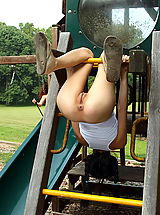 Ass Babes: tamara jade 04 playground bottle inside pussy