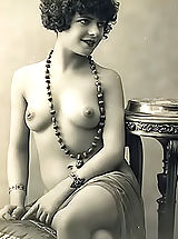 Vintage Babes: Very Old Genuine Vintage Erotic Postcards with Naked Women from France Circa 1920